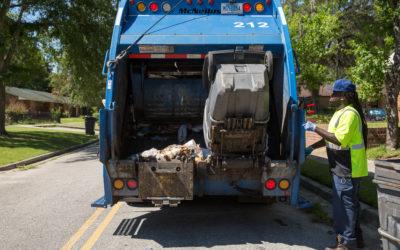 garbage pick up